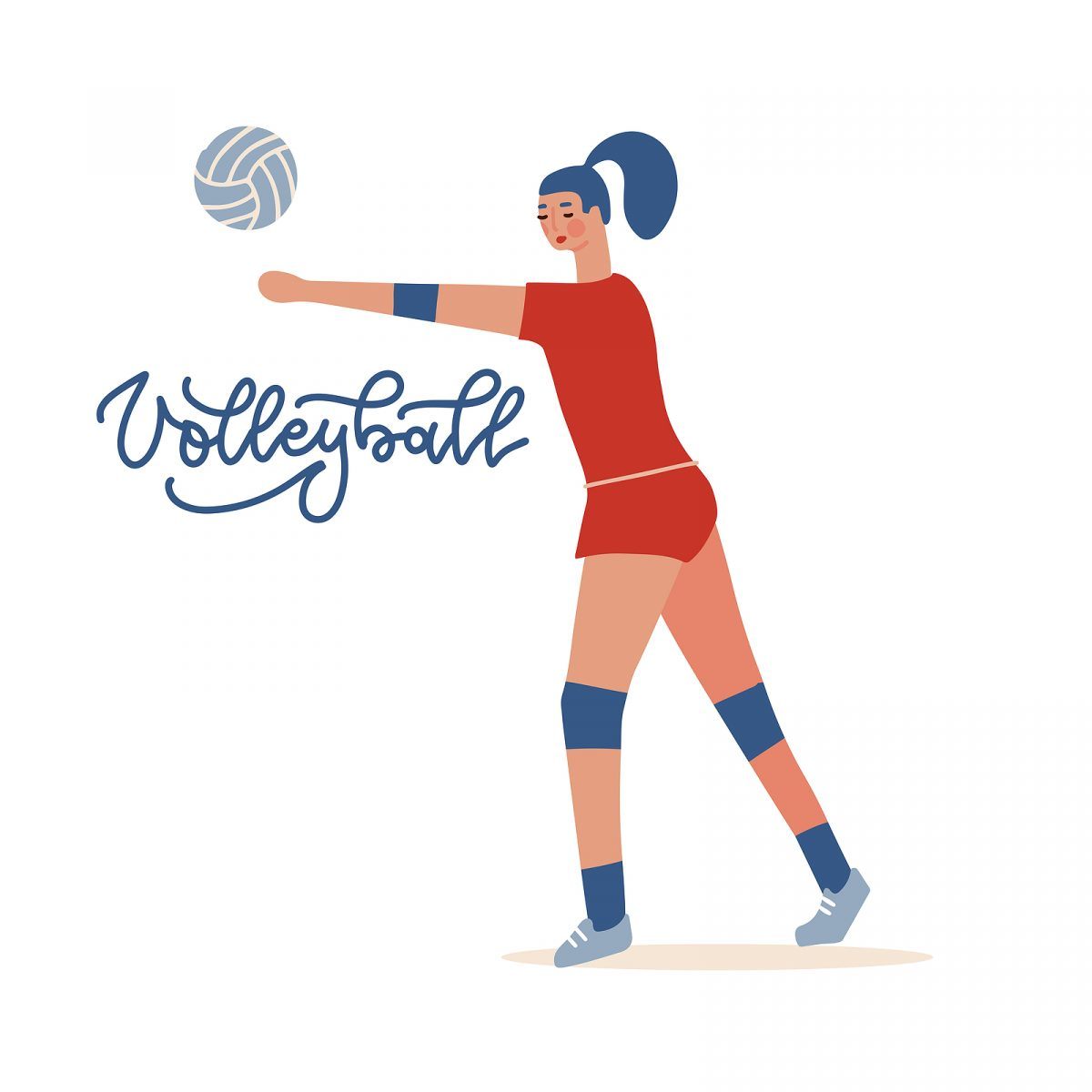 volleyball character